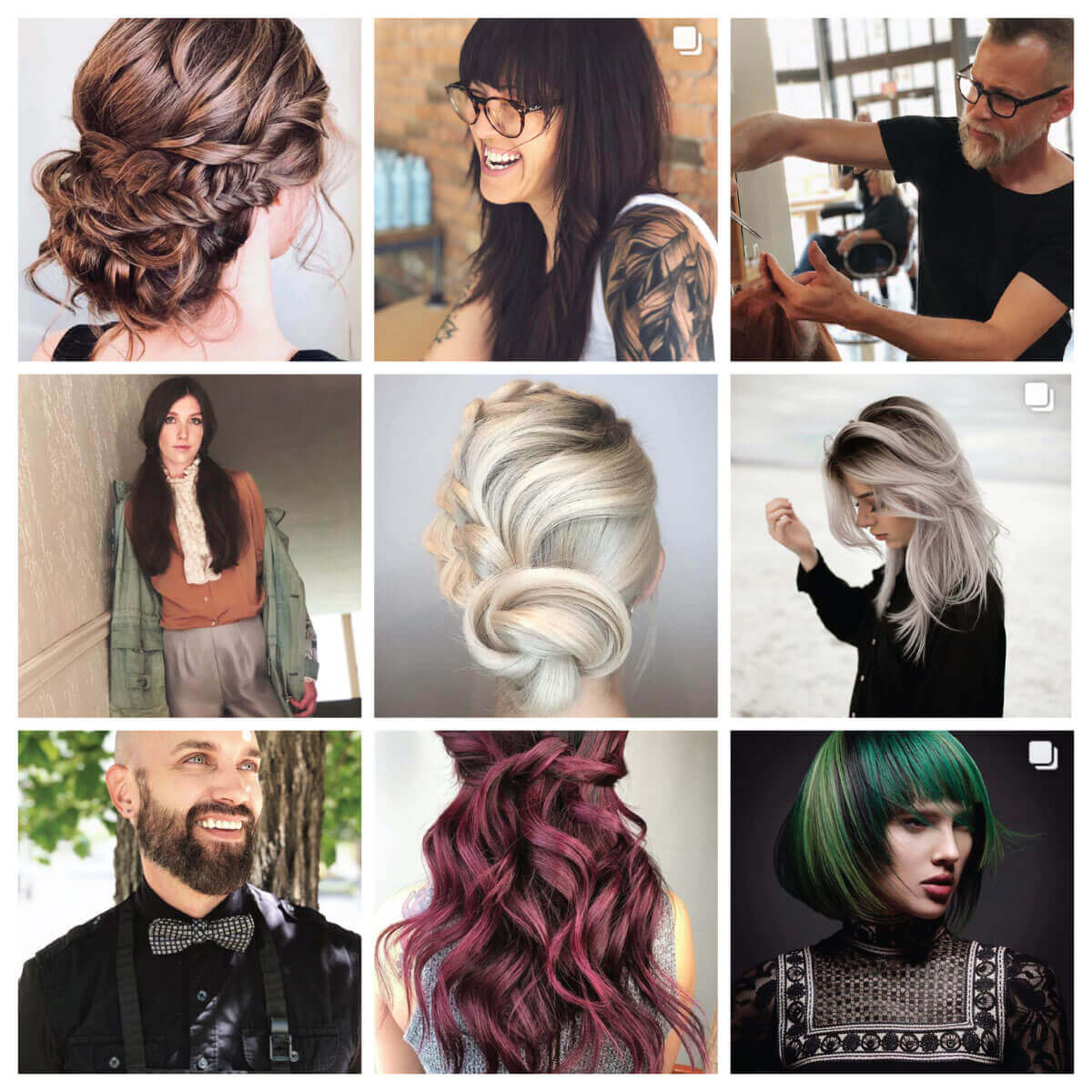 Landis Salon Instagram page