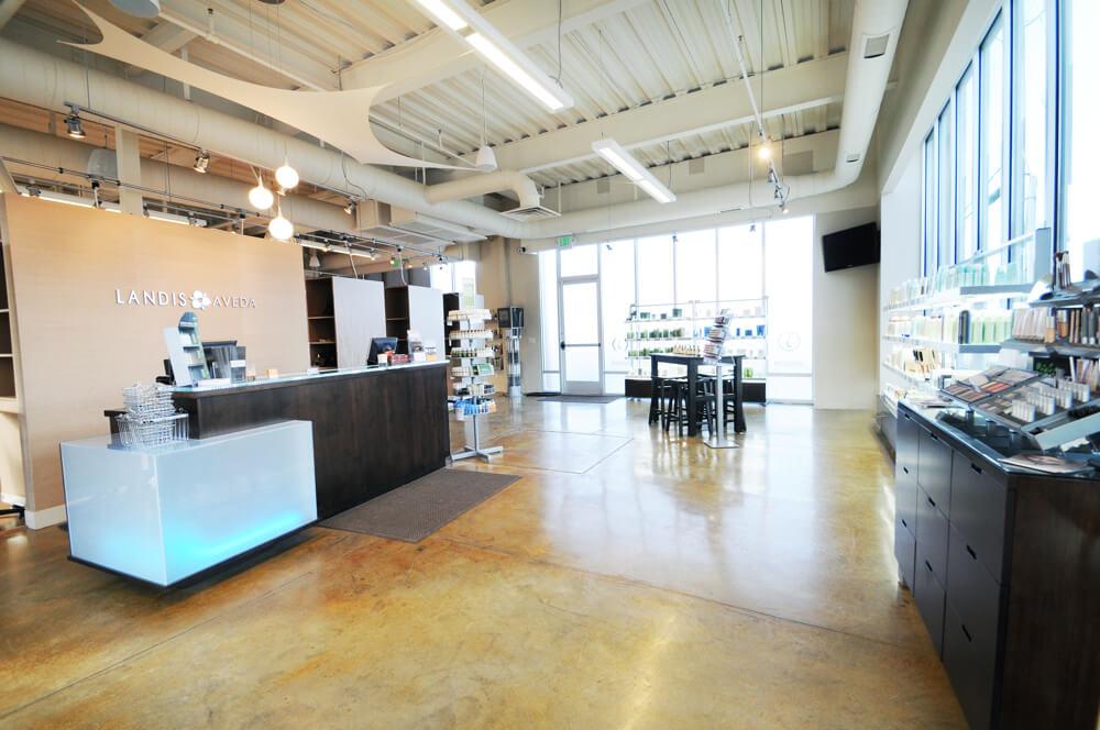 Landis Salon Utah Marmalade lobby