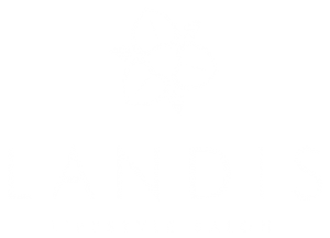 Landis Salon logo white