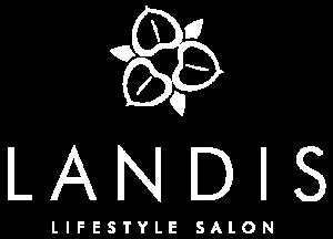 Landis Salon logo white
