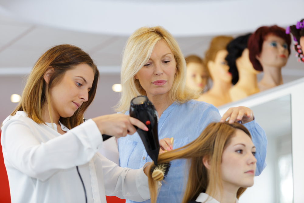 hair stylist training